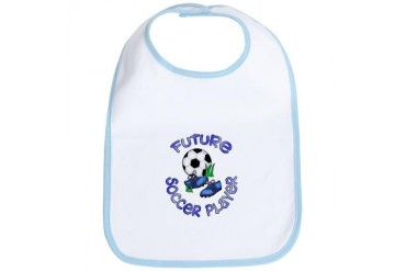 Future Soccer Player Boy Sports Bib by CafePress