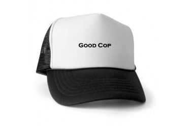 Good Cop Funny Trucker Hat by CafePress