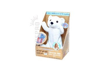 Endangered Species Groom Me Baby Essential Polar Bear 28 ea