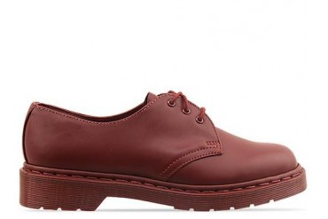 Dr. Martens 1461 in Cherry Red Monochrome size 10.0