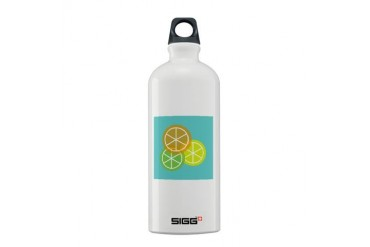 Fruta: Naranja Lima Limon Sigg Water Bottle Spanish Sigg Water Bottle 0.6L by CafePress