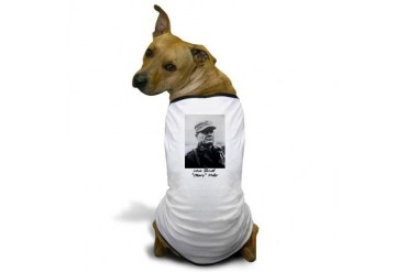 Chesty Puller w text Usmcfp Dog T-Shirt by CafePress