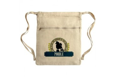 Poodle Sack Pack Dog Cinch Sack by CafePress