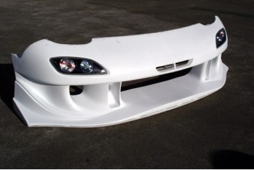 RE Amemiya AD Facer N1 05 Model Front Bumper without Turn Signals Mazda RX-7 FD3S 93-02