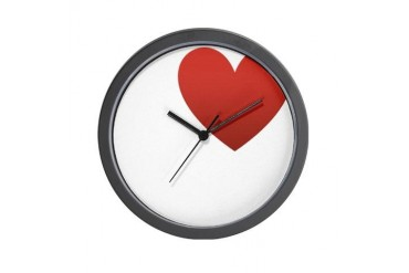 i-love-you.png Love Wall Clock by CafePress