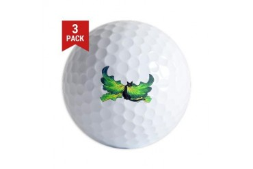 Art Golf Balls by CafePress