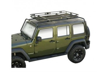 Kargo Master Congo Cage and Safari Rack Package for JK Wrangler Unlimited 50450 Roof Rack