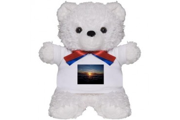 Elwood Beach, Goleta Beach Teddy Bear by CafePress