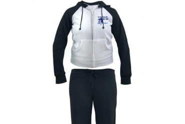 Too Sexy Penguin Funny Women's Tracksuit by CafePress
