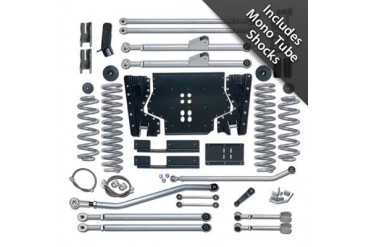 Rubicon Express 5.5 Inch Extreme-Duty Long Arm Lift Kit with Rear Track Bar and Mono Tube Shocks RE7225M Complete Suspension Systems and Lift Kits