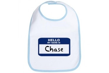 Hello: Chase Name Bib by CafePress