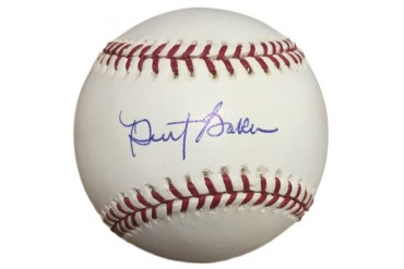 Dusty Baker Cincinnati Reds Signed Official MLB Baseball SI Auth.