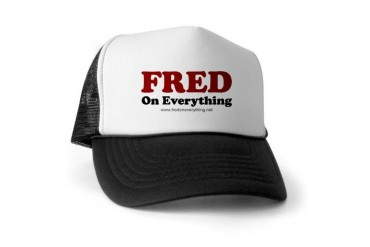 Fred's Usa Trucker Hat by CafePress