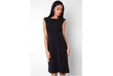 Urban Twist Obi Pleat Dress