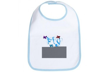 Fly Boy Baby Family Bib by CafePress