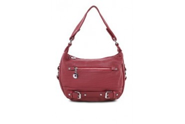 Passion Embossed Shoulder Bag