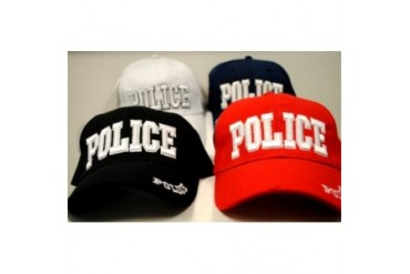 Ddi Adjustable Baseball Hats Caps Police (pack Of 24)