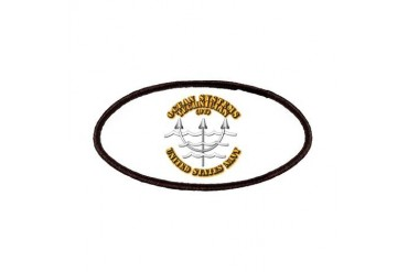 Navy - Rate - OT Navy Patches by CafePress