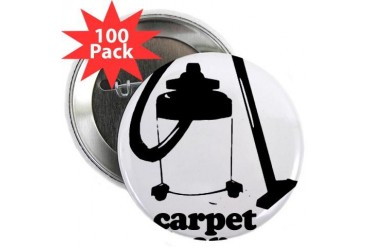 CARPET CLEANER 2.25quot; Button 100 pack Baseball 2.25 Button 100 pack by CafePress
