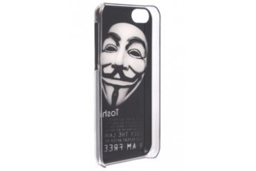 Mans Face Mask (I Am Free) iPhone 5C Case
