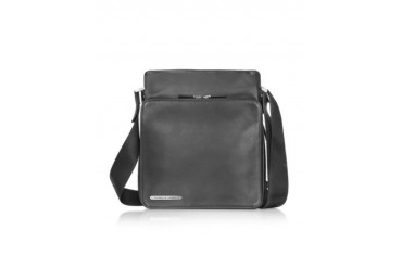 Black Leather Urban Bag