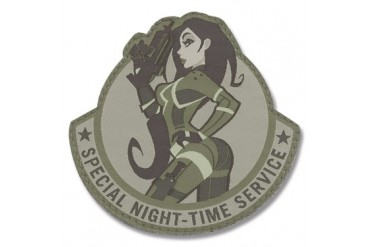 "Mil-Spec Monkey ""Pinup Special Night-Time Service"" Patch - ACU Camo Pattern"