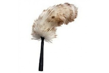 6 Pack Unger Industrial 92149 Flex Shaft Lambs Wool Duster, Dusting Tool