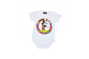 Mickey Mouse Cotton Blend Onesie