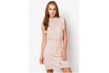 MANGO Shirt Collar Dress