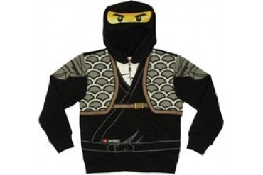 Lego Ninjago Cole Costume Full Zipper Hooded Youth Sweatshirt - Price Comparison  sc 1 st  Anyprices.com & Lego Ninjago Cole Costume Full Zipper Hooded Youth Sweatshirt ...