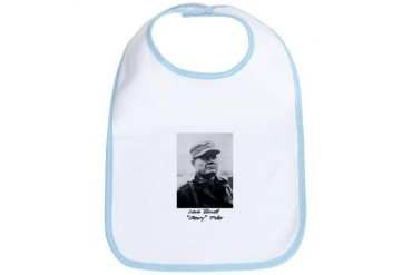 Chesty Puller w text Usmcfp Bib by CafePress
