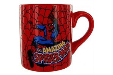 Marvel Comics Spider-Man Amazing Swing Web Mug