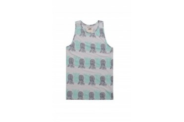Mens Vans Tank Tops - Vans Ananas Knit Tank Top
