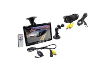 Pyle Plcm7700 7 Window Suction Mount Tft Lcd Widescreen Monitor amp
