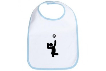 Sitting Volleyball Sports Bib by CafePress