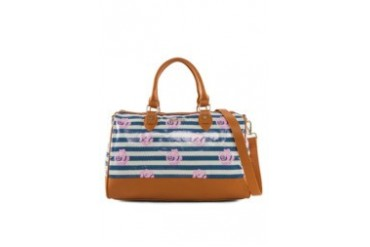 G. Davin Double Handle Tote Bag