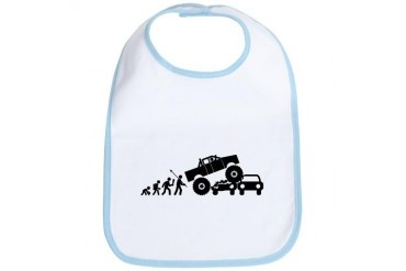 Monster Truck Sports Bib by CafePress
