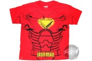Marvel Comic 's Iron Man Costume Youth T-Shirt