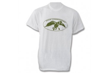 Duck Commander T-Shirt - White - XL