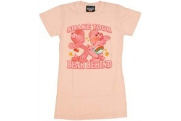 Care Bears Shake Your Bear Behind Baby Doll Tee by JUNK FOOD