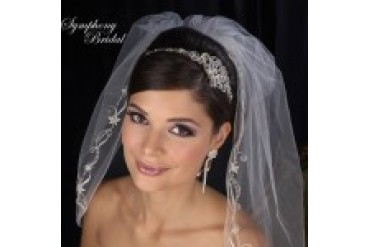 "Symphony Bridal ""In Stock"" Crown - Style 7425CR"