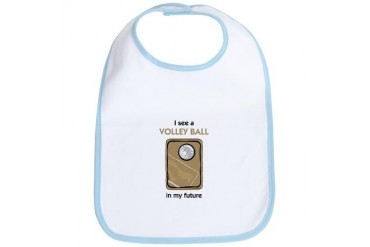 I see a Volley Ball in my Future Sports Bib by CafePress