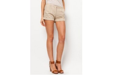 Mango Linen Cotton-Blend Shorts
