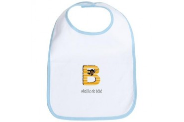 Baby Bee Cute Bib by CafePress