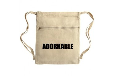 Adorkable Sack Pack Internet Cinch Sack by CafePress