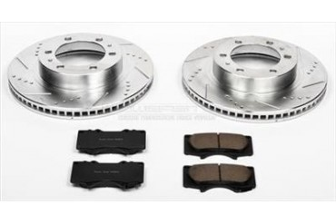 Power Stop Performance Brake Upgrade Kit K137 Replacement Brake Pad and Rotor Kit