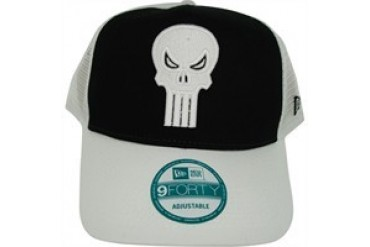 newest 380ad c95f9 Marvel Comics Punisher Skull Logo on Front and Mesh Embroidered Snap  Closure Mesh Hat - Price Comparison