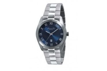 Kenneth Cole Mens IKC9229 Silver/Blue Watch