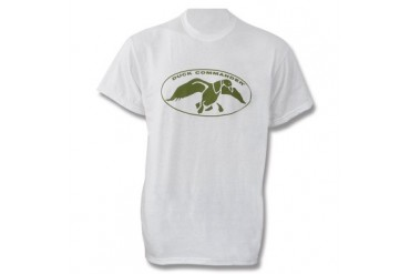 Duck Commander T-Shirt - White - S