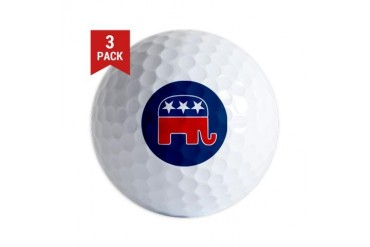 GOP Logo Golf Balls (3-pack)